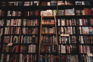 ライブラリー、知識、情報、閲覧
